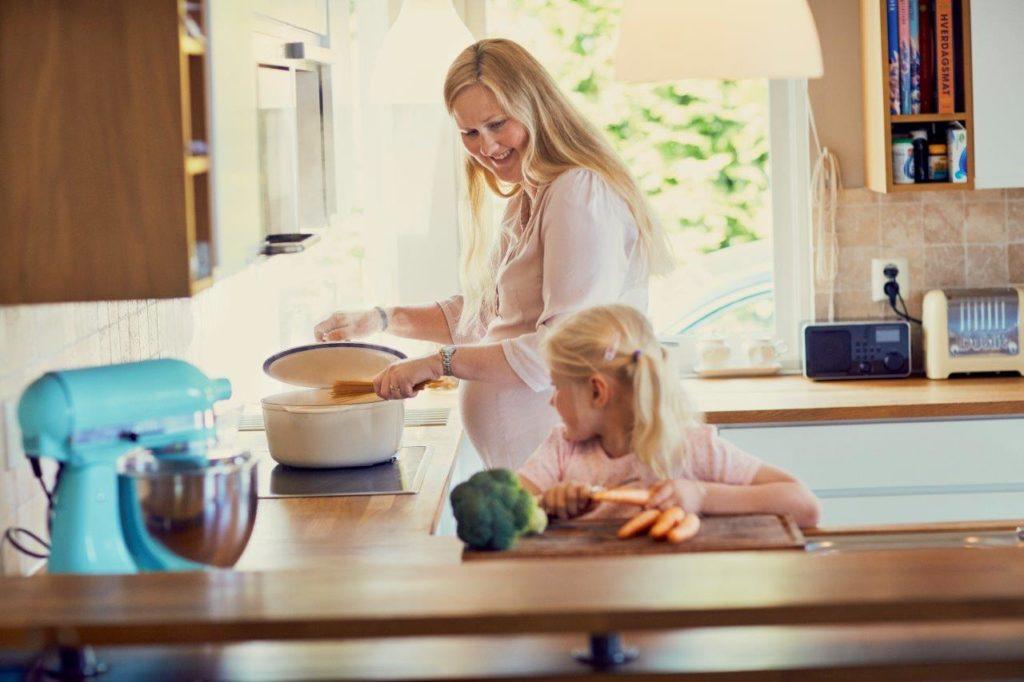 Brannsikkerhet i hjemmet. Foto: Einar Aslaksen/Pudder Agency