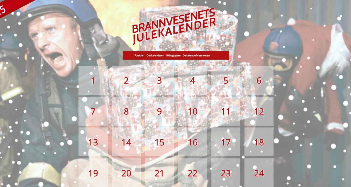 Brannvesenets julekalender 2015