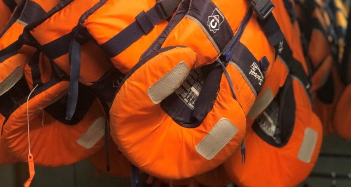 Utleie av utstyr og redningsvester
