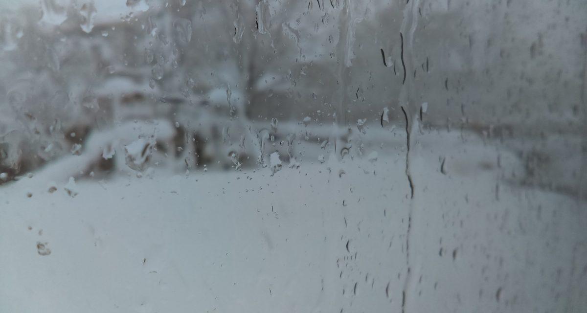 Vind, snø og vann – vær beredt